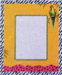 PF155 Colors of Praise Parrot Frame 10x12  18M Frame opening 5x7