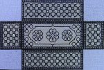 BC717 Colors of Praise  Black White 13 3/4 x 9 1/4  13M Brick Cover