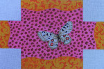 BC715 Colors of Praise Butterfly/ Pink Leopard 13 3/4 x 9 1/4  18M Brick Cover