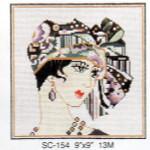 SC-154 Turban Lady Sophia Designs
