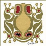 From the Artwork of Todd Jason Baker SQUAMISH FROG