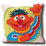 "GOK4081 Thea Gouverneur Kit Sesame Street Ernie 15"" x 15""; Canvas; 10ct"