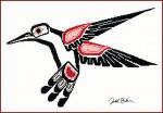 13-2483 Salish Hummingbird by Stitching Studio, The From the Artwork of Todd Jason Baker
