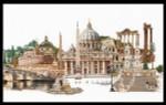 """GOK499 Thea Gouverneur Kit Rome 32"""" x 20""""; Linen ; 36ct"""