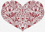 Alessandra Adelaide Needleworks AAN154 Gioia in Cuore