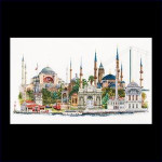 "GOK479 Thea Gouverneur Kit Istanbul 32"" x 20""; Linen; 36ct"