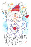 ABD-0007 CUP OF COCOA (CS) Amy Bruecken Designs