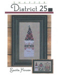 District 25-Santa House (w/btn) Bent Creek