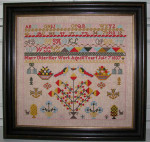 12-2684 Mary Utley Sampler by Black Branch Needlework