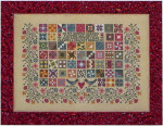 Blue Ribbon Designs Quilted Garden 157x228