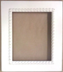 Crescent Colours Frame-Meg 6 x 7.5 Shabby Icing Retail: $44.00