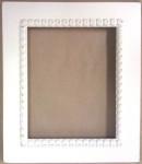 Crescent Colours Frame-Meg 6 x 7.5 Shabby Icing Retail: $44.00
