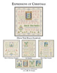 CW Designs Deck The Halls Sampler 141 x 149