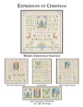 CW Designs Merry Christmas Sampler 149 x 153