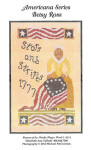 12-2037 Betsy Ross-Stars & Stripes 1777 AMERICANA SERIES 100w x 172h Dames Of The Needle
