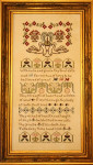 10-1673 Blessed Sampler 149 X 330 by Dames Of The Needle