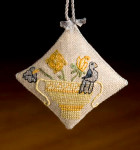 10-2014 Bird In Basket Scissor Fob by Dames Of The Needle