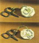 12-2390 Quaker Fob by Dames Of The Needle