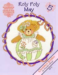 02-1167 Roly Polys-May (Cherished Teddies) by Designs By Gloria & Pat