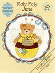 02-1168 Roly Polys-June (Cherished Teddies) by Designs By Gloria & Pat