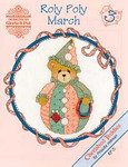 02-1165 Roly Polys-March (Cherished Teddies) by Designs By Gloria & Pat
