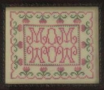 10-1704 Mom Wow by Fallbrook House Needleplay 77w X 63h