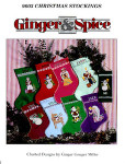 96-550 Christmas Stockings by Ginger & Spice
