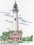 04-1035 St. Simons Island Lighthouse by Tidewater Originals