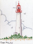 04-1032 Cape May Lighthouse Kit by Tidewater Originals