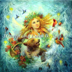 12-2969 Christmas (Strelkina) by Heaven And Earth Designs Size: 750w x 755h