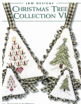 10-1912 Christmas Tree Collection VI Candle Tree: 23w x 33h, Snow Tree 28w x 33h by JBW Designs YT