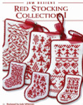 10-2257 Red Stocking Collection I JBW Designs