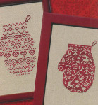 08-2388 Red Mitten Collection II by JBW Designs