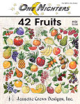 97-1453 42 Fruits by Jeanette Crews Designs