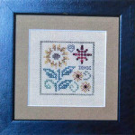 11-2351 One Sunflower 35 x 35 Jeannette Douglas Designs