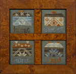 10-1127 Quaker Home Sweet Home 29 x 30 Each Jeannette Douglas Designs
