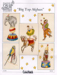 04-2085 Big Top Afghan by Just CrossStitch