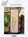 03-2547 Amazon Parrot by Just CrossStitch