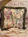 04-1840 Peaches Pillow by Just CrossStitch