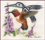 Stitching Studio, The Sue Coleman RUFUS HUMMINGBIRD