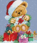 09-2391 Christmas Teddy by Kustom Krafts