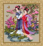 10-1640 Asian Beauties 235 x 245 Kustom Krafts