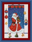 08-1717 Christmas Santa by Kustom Krafts