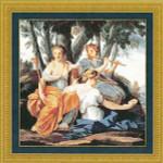 11-1044 Muses, The 224 x 224 Kustom Krafts