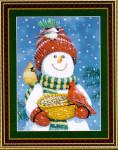 08-1852 Snowman Friends by Kustom Krafts