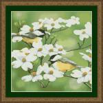 09-2678 Springtime Chickadees by Kustom Krafts