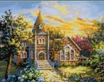 09-1927 Sacred Sanctuary Stitch Count 252 x 196 Kustom Krafts