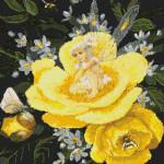 09-2392 Yellow Peony Fairy by Kustom Krafts