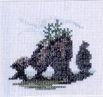 05-1842 Hopewell Rocks (Miniature) Lynne Nicoletti