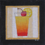 CT10 TEQUILA SUNRISE 4 1/2 x 4 3/8 18 Mesh Raymond Crawford Designs